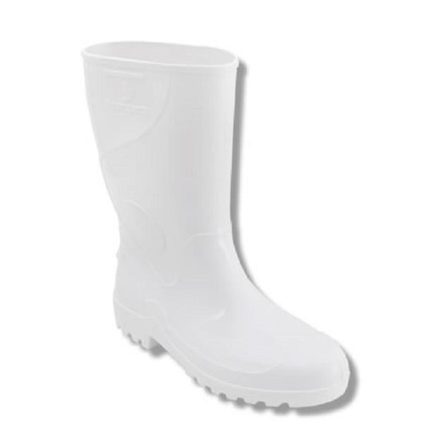 Bota Innpro Agro PVC Branca, Cano Médio CA 36025