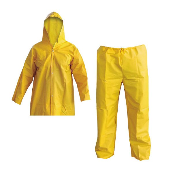 Conjunto de Chuva Capa e Calça PVC  CA 28481 / CA 28482