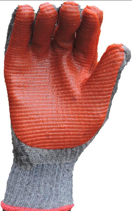 Luva Rubber Red Skin Látex Vulcanizada, Super Safety, CA 34370