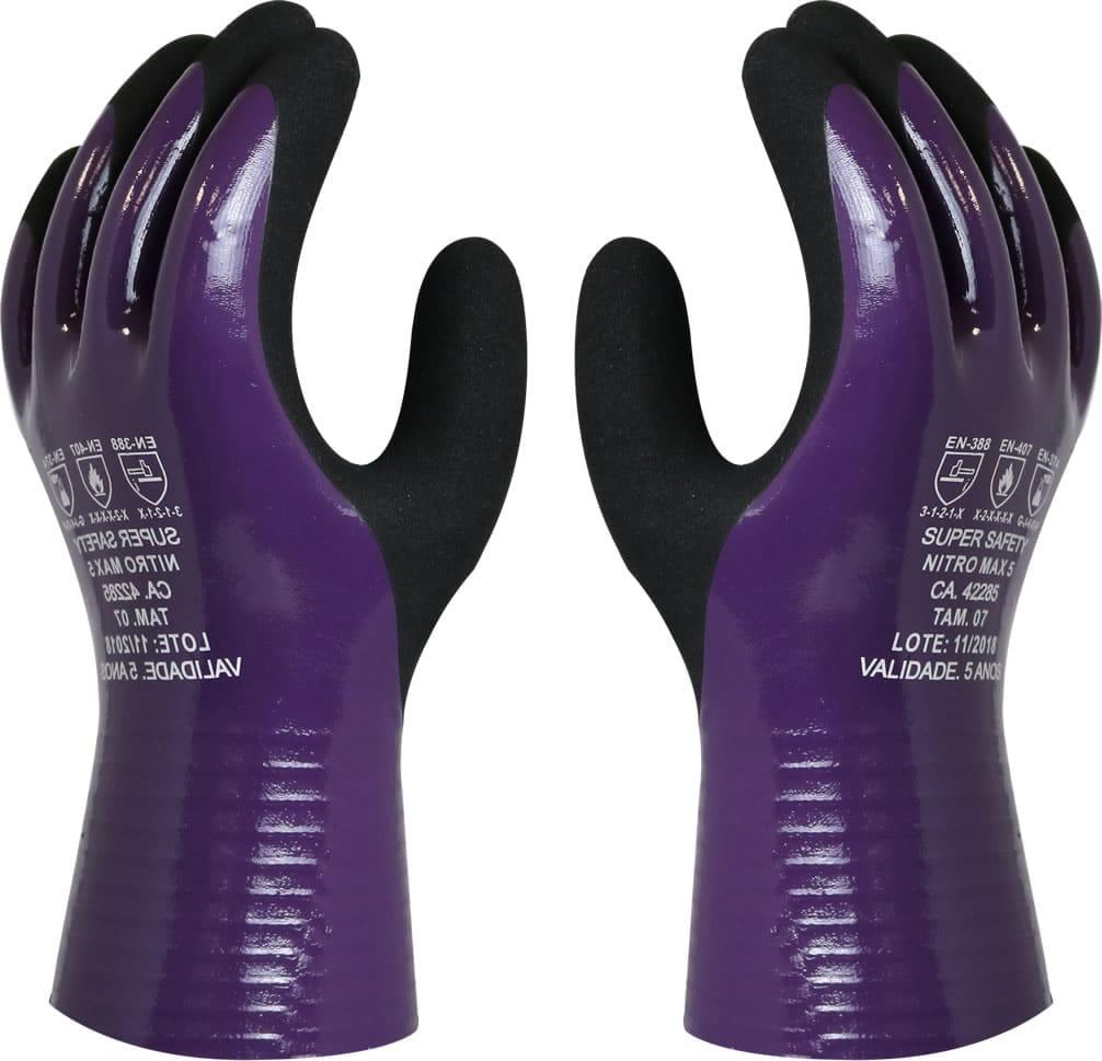 Luva Nitromax 5, Super Safety, CA 42285