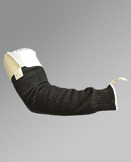 Mangote tricotado com elástico e velcro. CA 41035