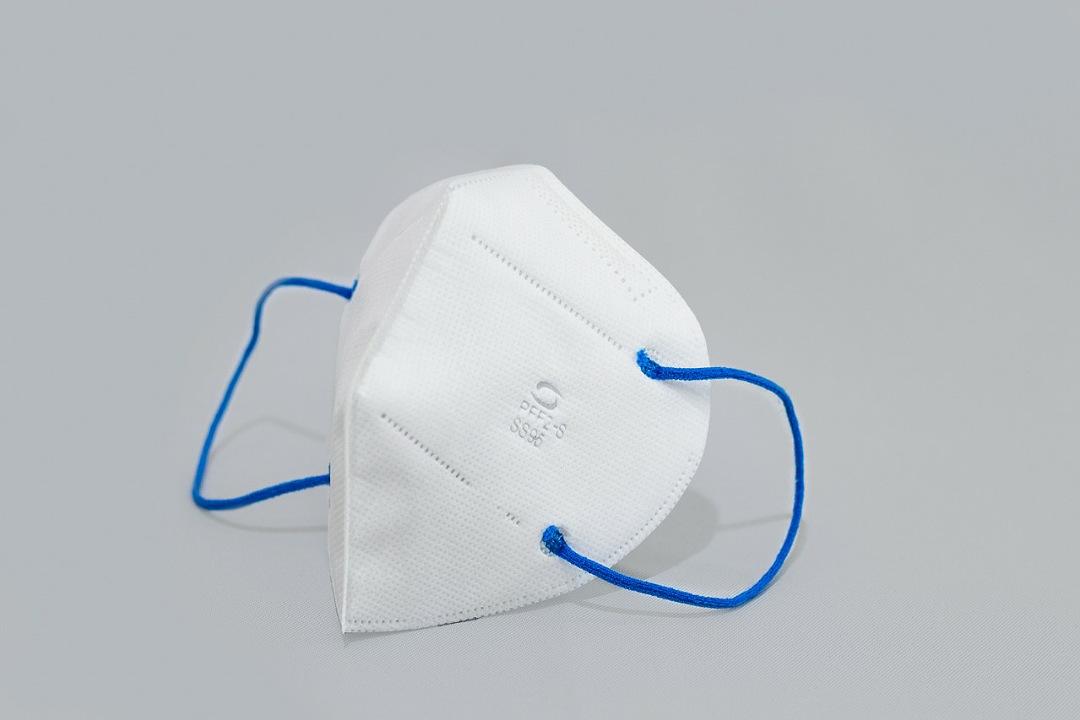 PFF2 N95 Branca com elástico azul