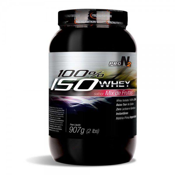100% Iso Whey Isolado - Vitamina de Frutas