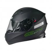 CAPACETE TEXX G2 SOLIDO PRETO/VERDE 56