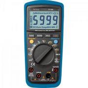 Multímetro Digital ET1649 Preto e Azul MINIPA