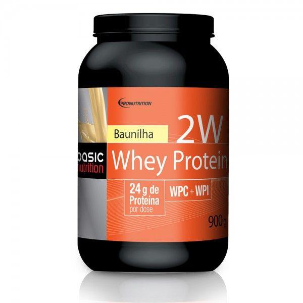 2W Whey Protein - Baunilha