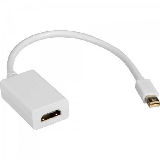 Adaptador Display Mini Portátil Para HDMI 15cm ADAP0041 Bran