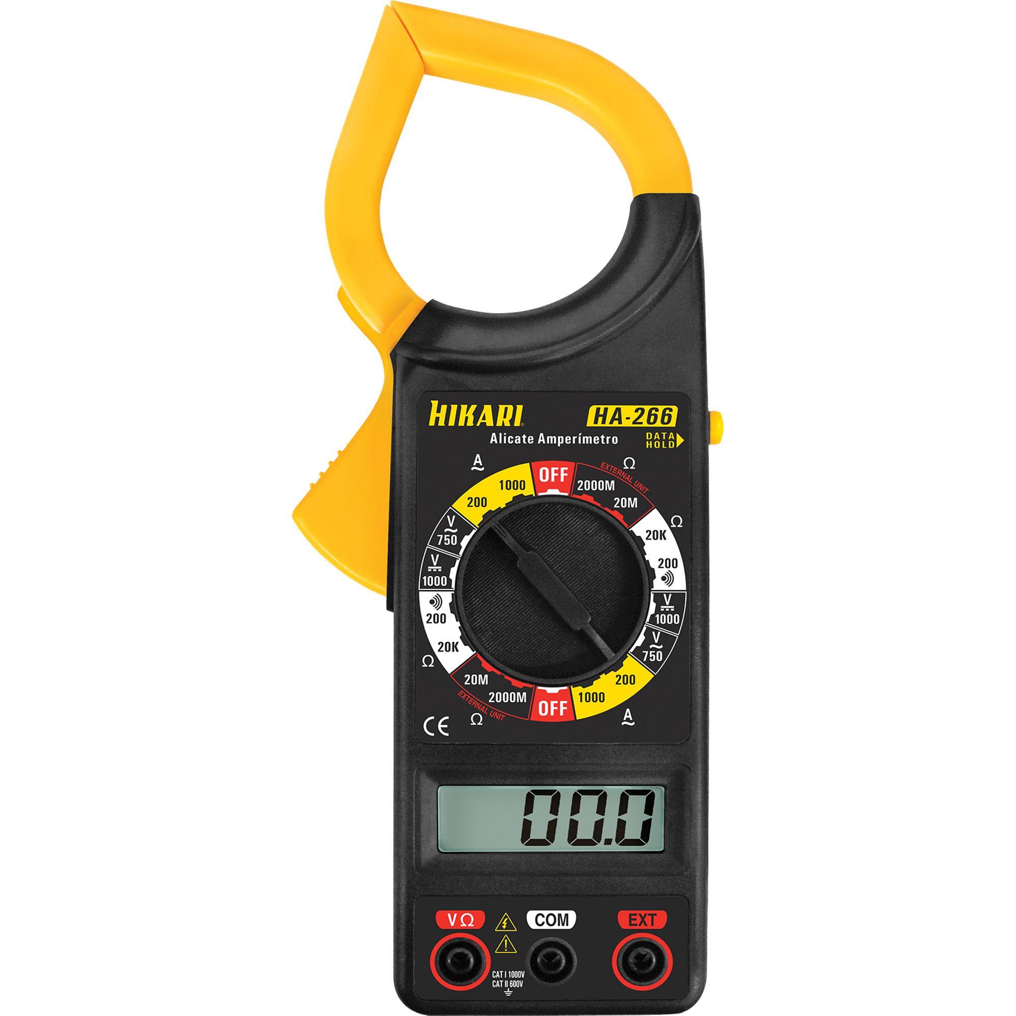 Alicate Amperímetro HA266 HIKARI