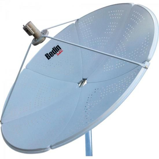Antena Parabólica Banda C/KU BE-1,5M BEDINSAT