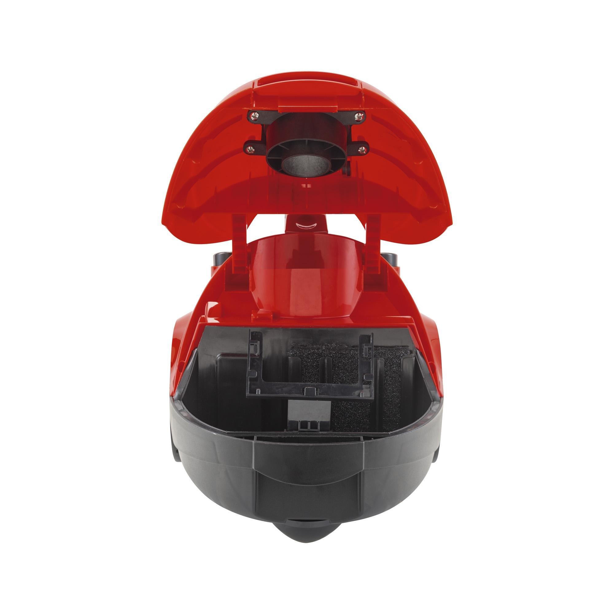 Aspirador de Pó 127V 1500W Praticci Vermelho AGRATTO
