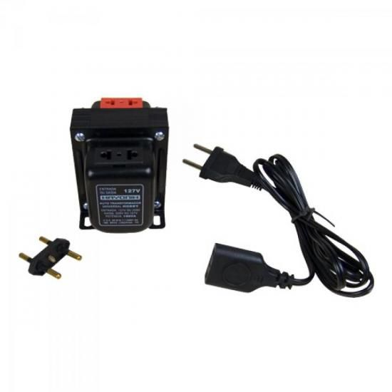 Auto Transformador Universal 127/220VAC e 220/127VAC 300VA H