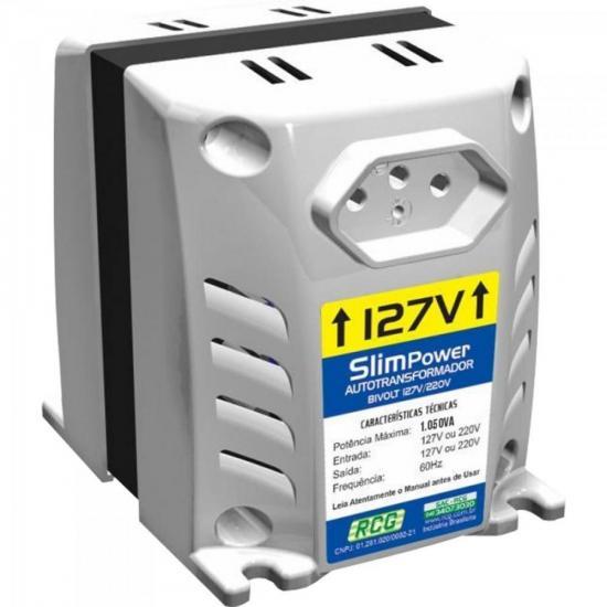Autotransformador 127/220VAC 1050VA SLIM POWER Branco RCG