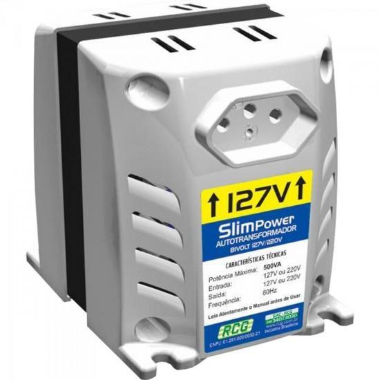 Autotransformador 127/220VAC 750VA SLIM POWER Prata RCG