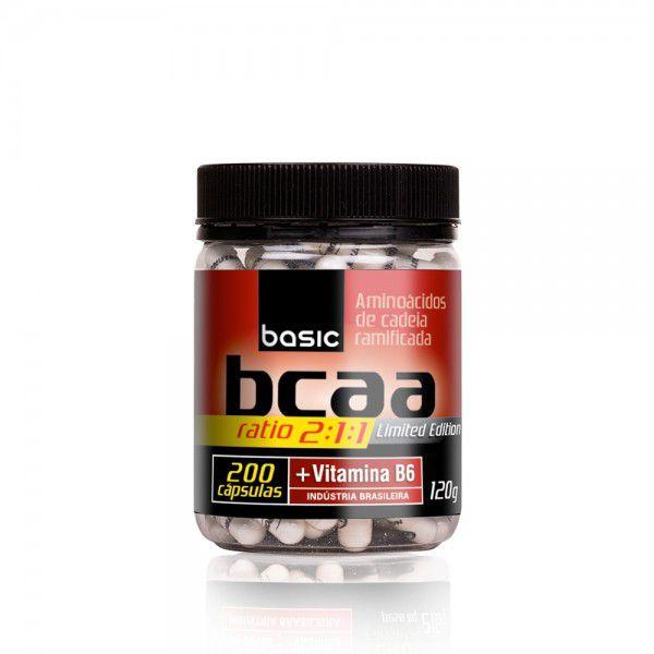 Basic BCAA 500mg + Vit B6 200 caps