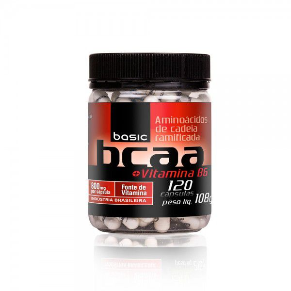 Basic BCAA 800mg + Vit B6 120 caps