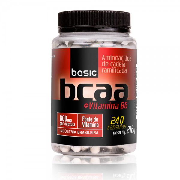 Basic BCAA 800mg  + Vit B6 240 caps