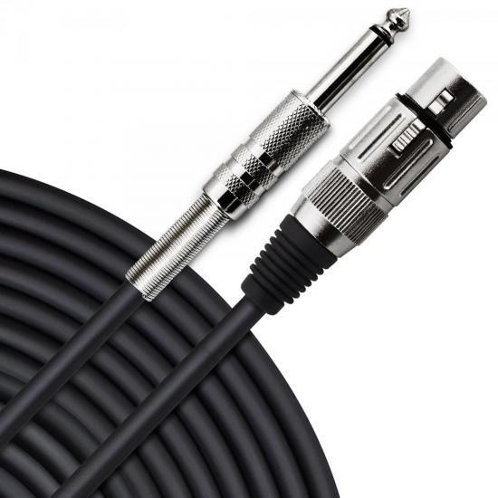 Cabo para Microfone XLR(F) X P10 10m PLAYER Preto HAYONIK