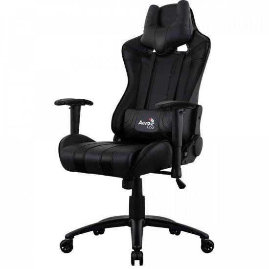 Cadeira AIR-B AC120C AEROCOOL PRETA