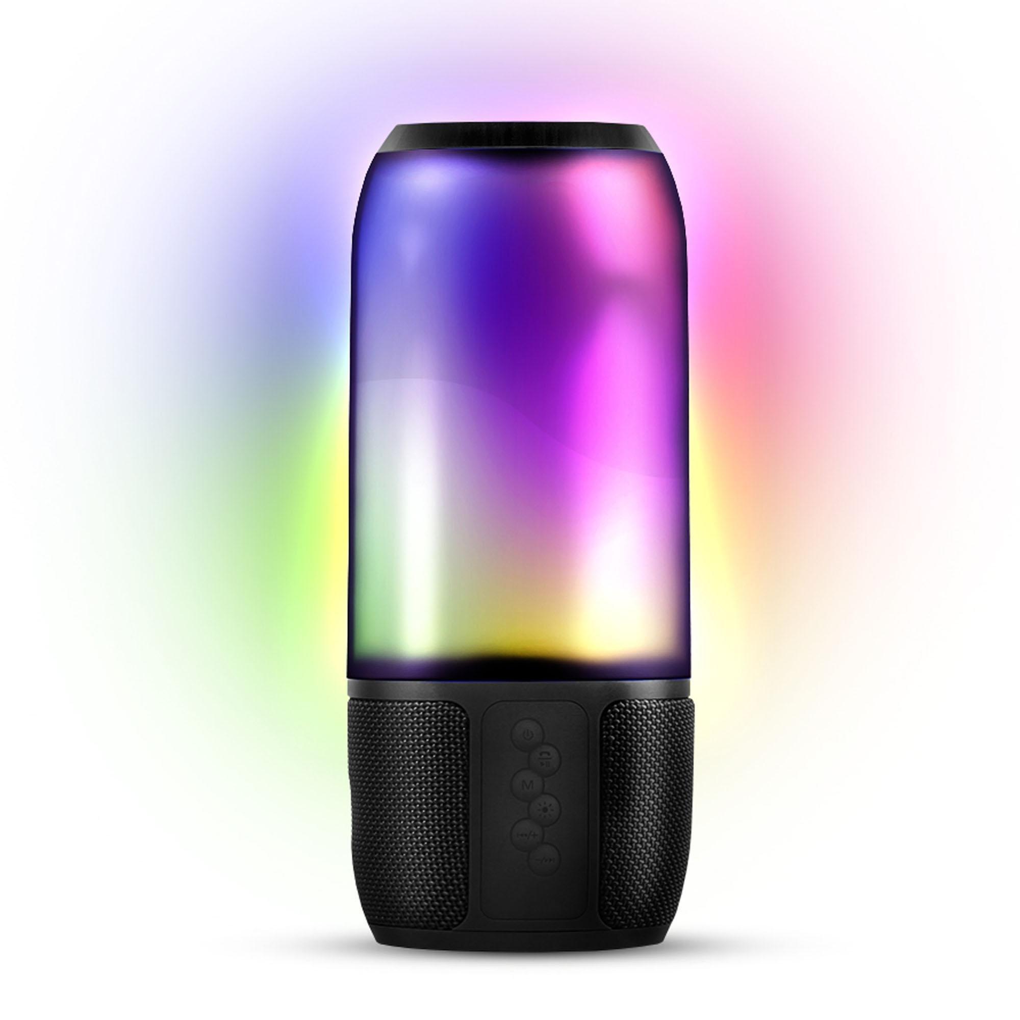 Caixa de Som Bluetooth Lightshow NOVIK
