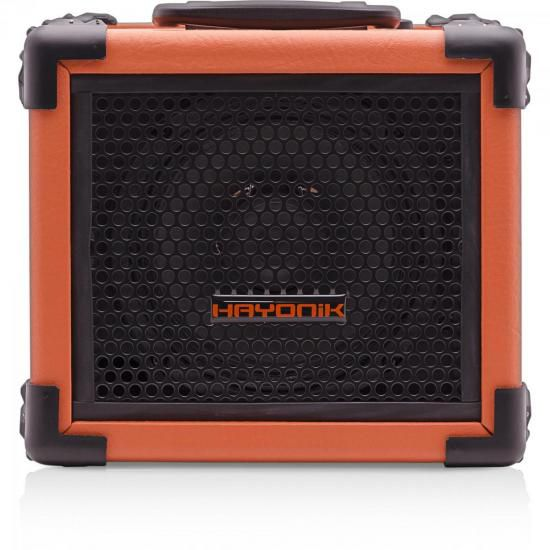 Caixa Multiuso 20W Bluetooth/USB/SD/FM IRON 80 Laranja HAYON