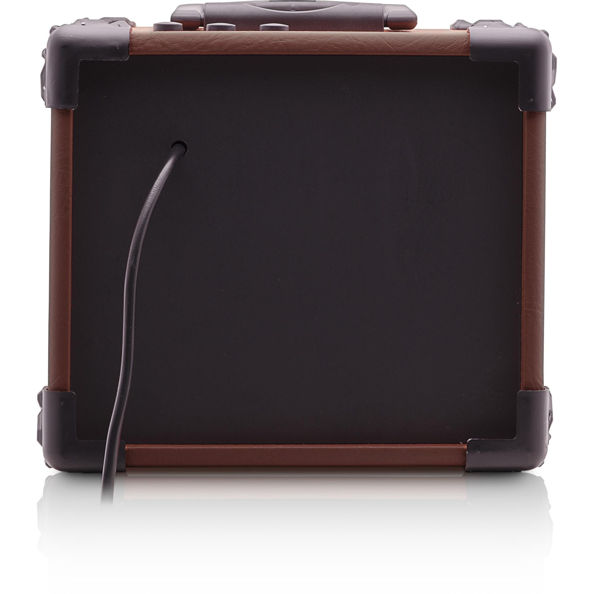 Caixa Multiuso 20W Bluetooth/USB/SD/FM IRON 80 Marrom HAYONI