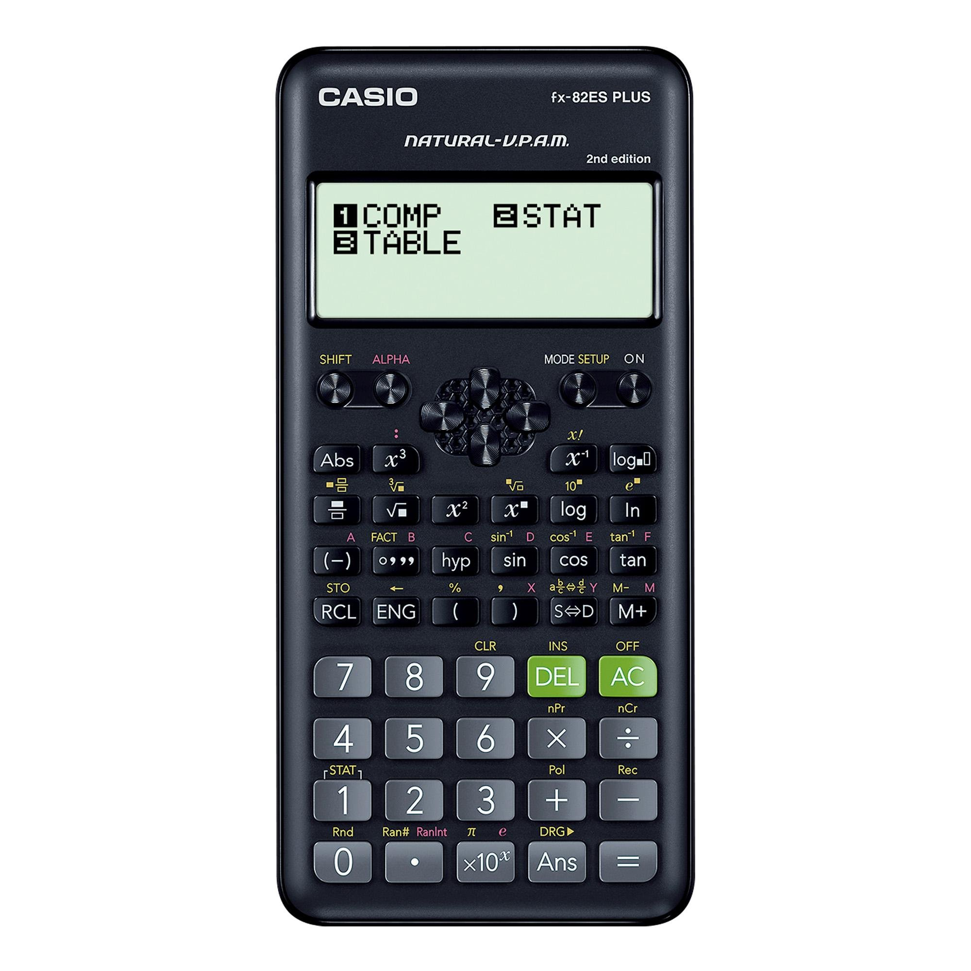 Calculadora Científica 252 Funções FX-82ES PLUS-2 Preta CASI