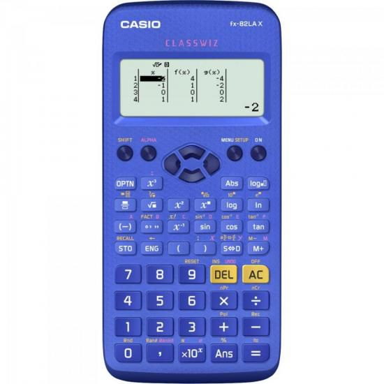 Calculadora Científica FX82LAX Azul CASIO