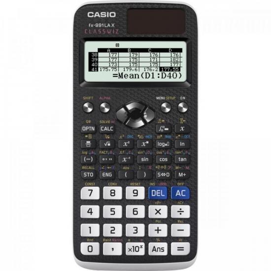 Calculadora Científica FX991LAX Preto CASIO