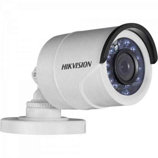 Camera Bullet HD 3.0P 1MP 20M 2.8mm Branca DS-2CE16C0T-IRP H