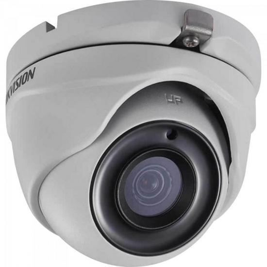 Camera Dome HD 4.0 2MP 20M 3.6MM DS-2CE56D8T-ITM Branca  HIK