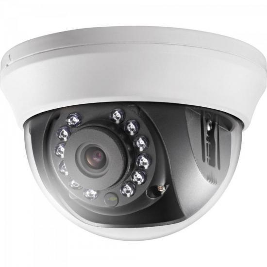 Camera Dome HD-TVI-IR 20M 3,66mm DS-2CE56C0T-IRMMF Branca HI