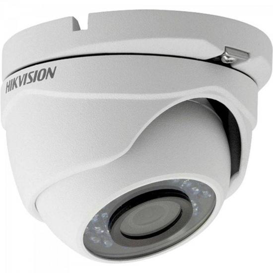Camera Dome HDTVI 2,8mm 20M 2MP 1080P IP66 Plastico DS-2CE56