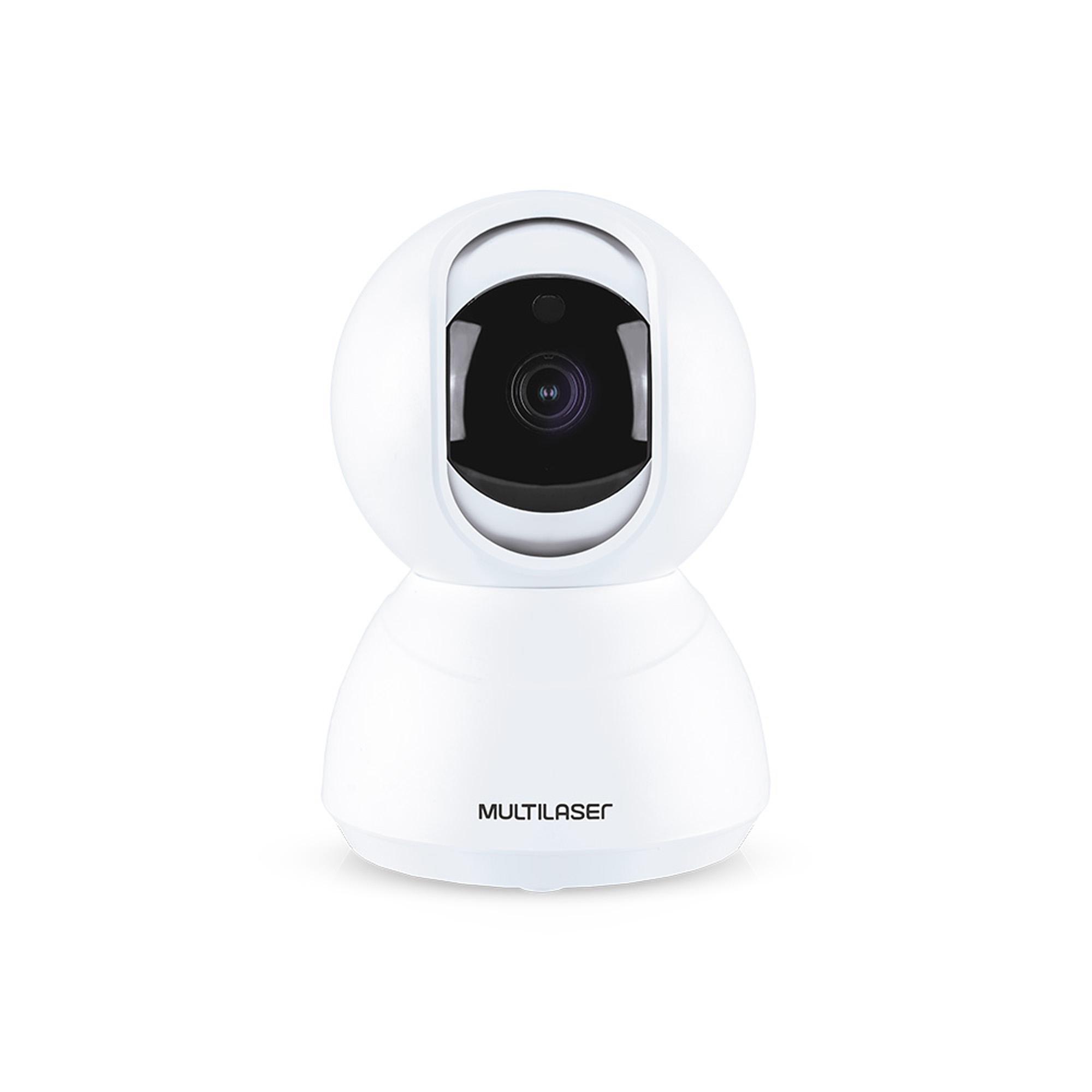 Câmera Robô Inteligente Full HD Wi-Fi SE221 Branca MULTILASE