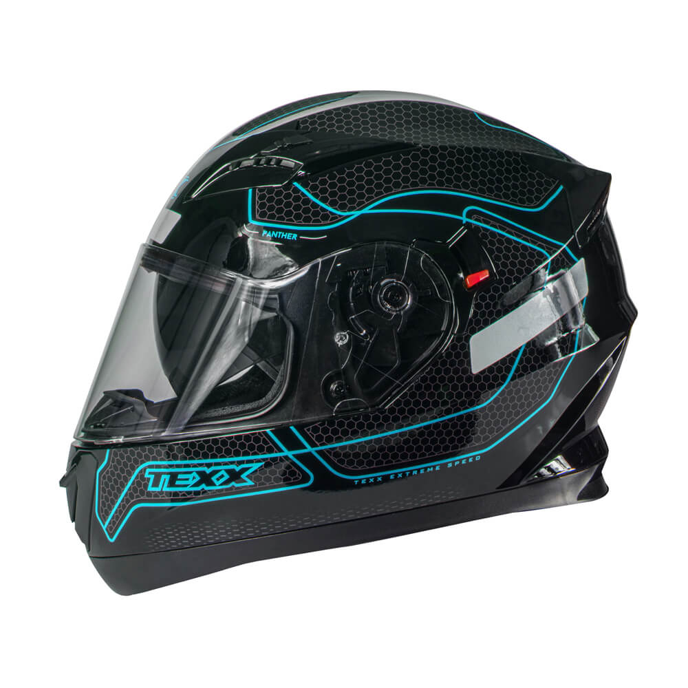CAPACETE TEXX G2 PANTHER AZUL 58