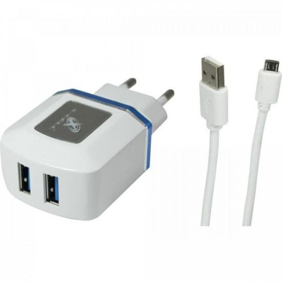 Carregador Turbo Micro USB XC-UR7 X-CELL FLEX