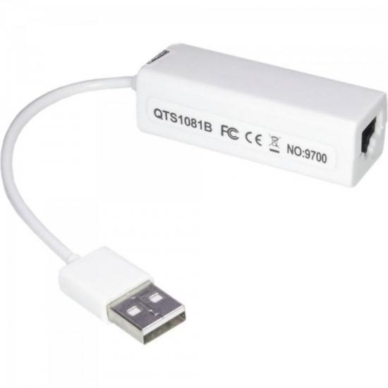 Conversor USB 2.0 x RJ45 ADAP0040 Branco STORM