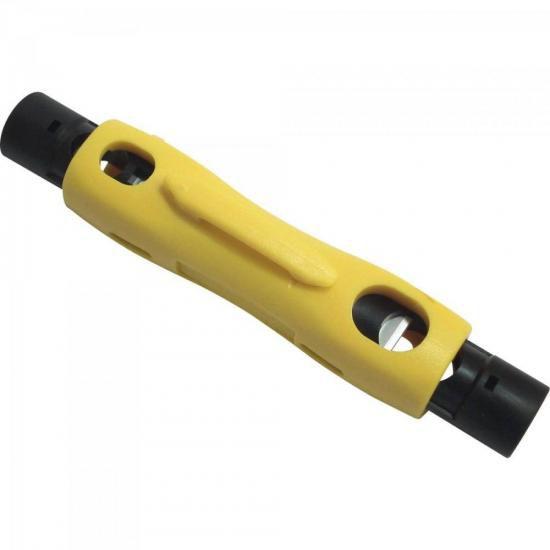 Desencapador Fio RG 59/6/7/11 Amarelo SECCON