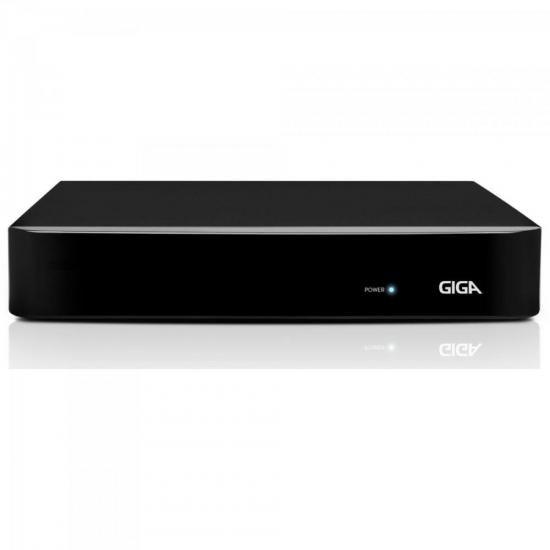 DVR HVR Open (5 em 1) 4 Canais 1080N GS04OPENHDI2 Preto GIGA