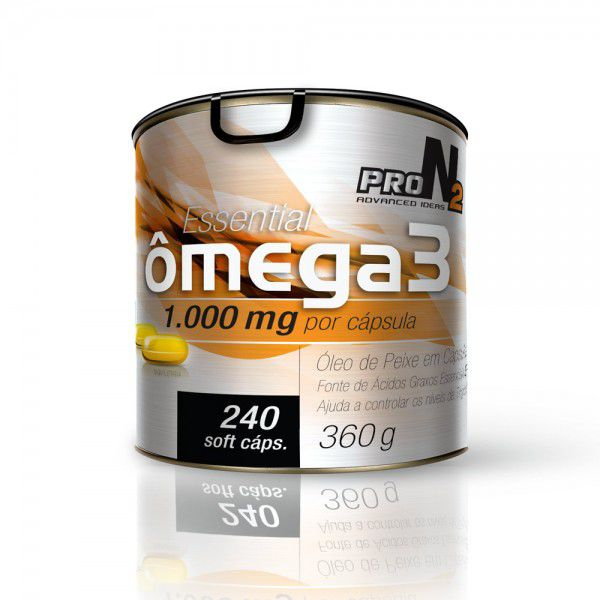 Essential Ômega 3 240 caps