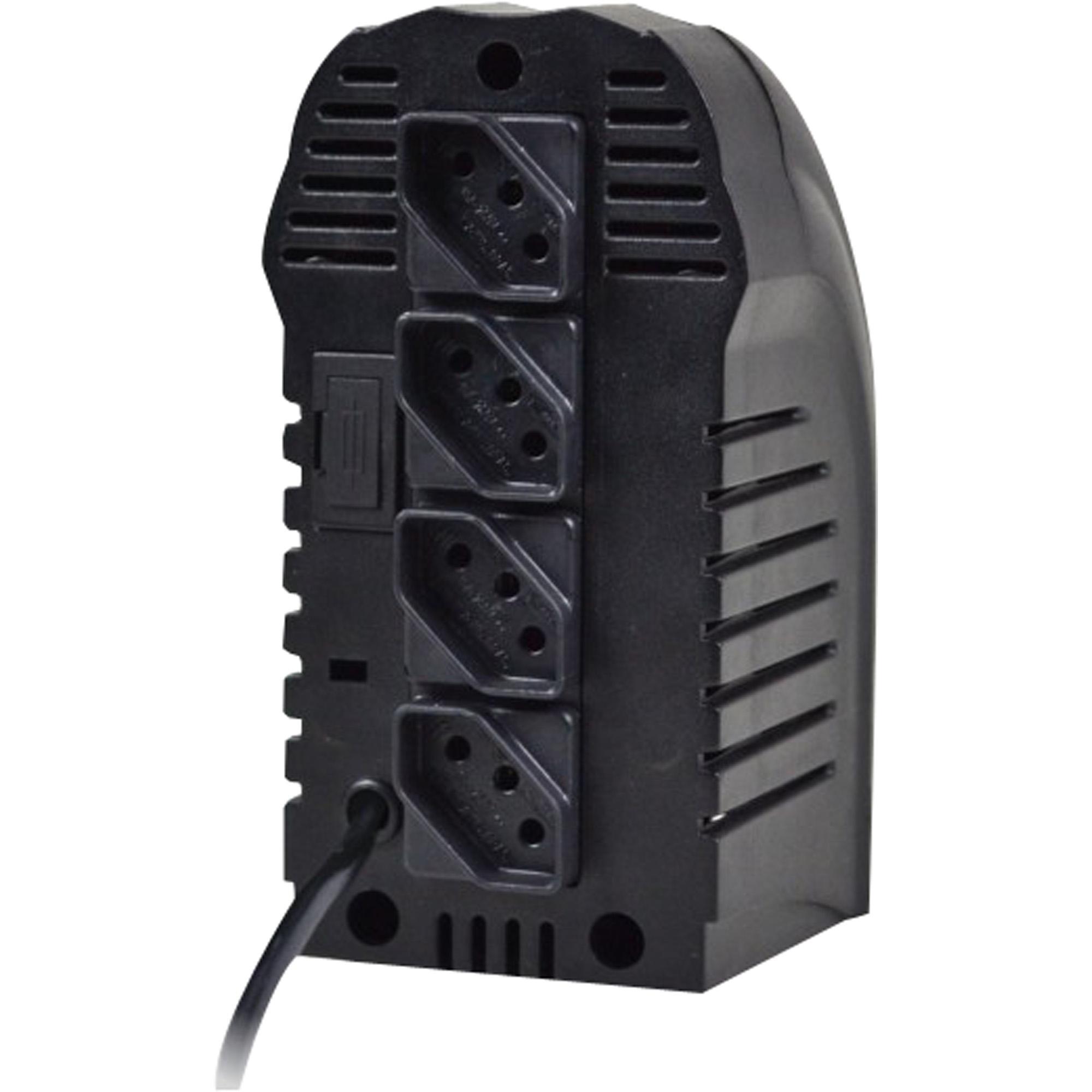 Estabilizador 500VA POWEREST Bivolt Preto TS SHARA
