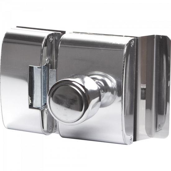 Fechadura para Porta de Vidro PV200R1I Cromada AGL