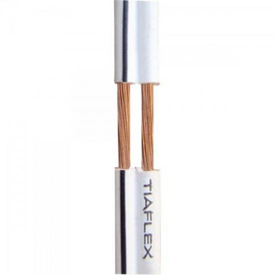 Fio Polar Ext 2x0,20mm 24 Branco TIAFLEX