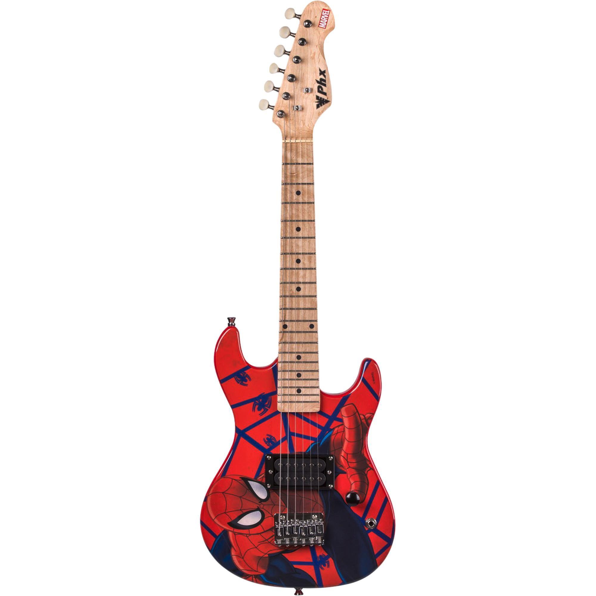 Guitarra Infantil Marvel Spider-Man PHX