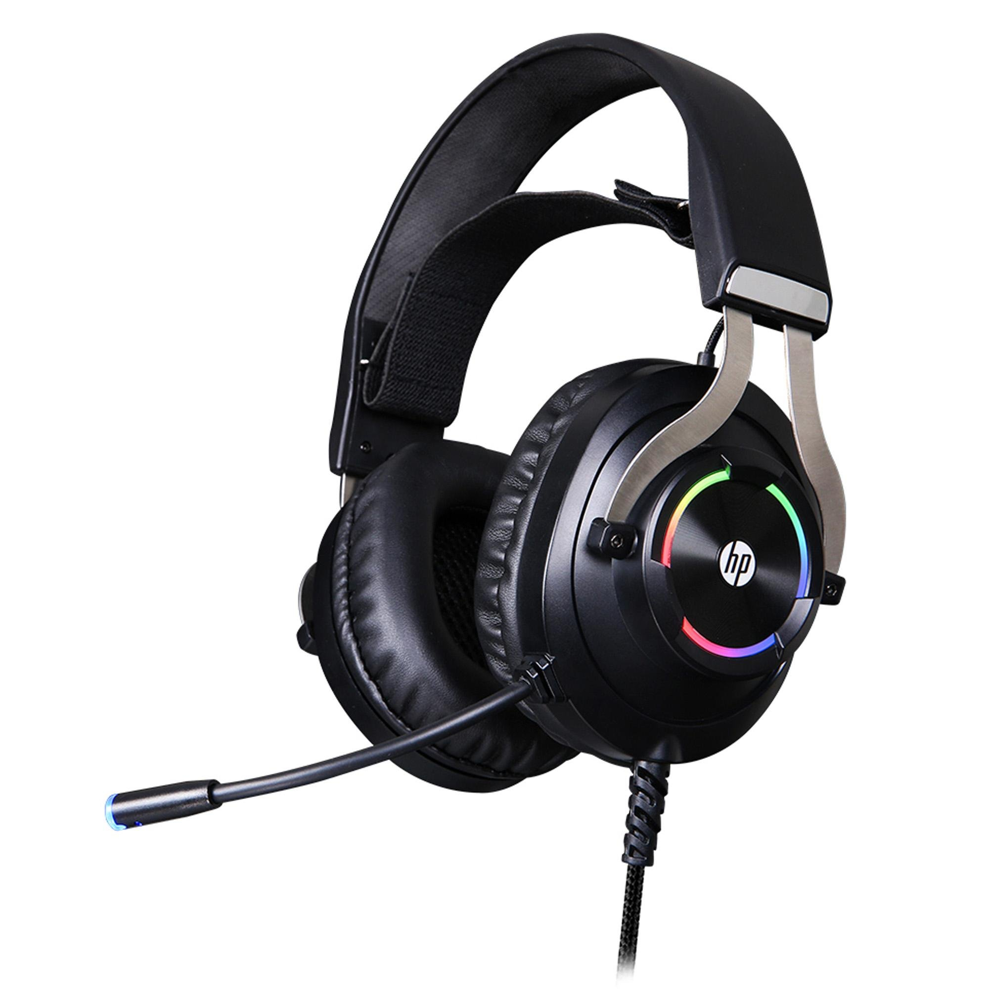 Headset Gamer 7.1 RGB USB H360GS Preto HP