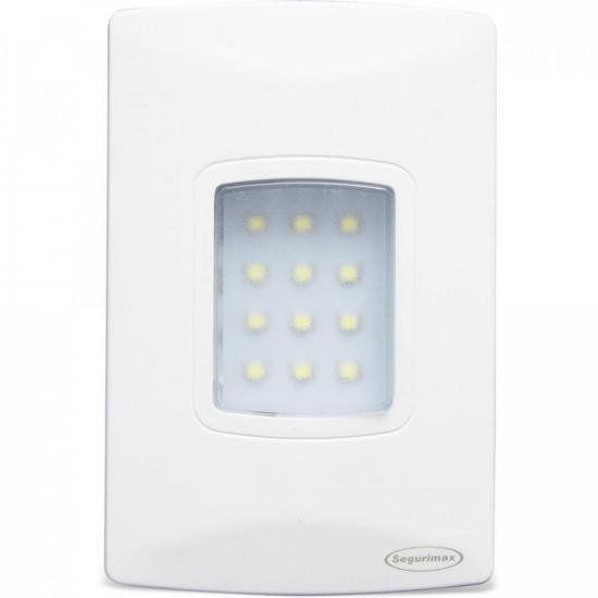 Iluminação de emergência autônoma de embutir LED 100 Lúmens