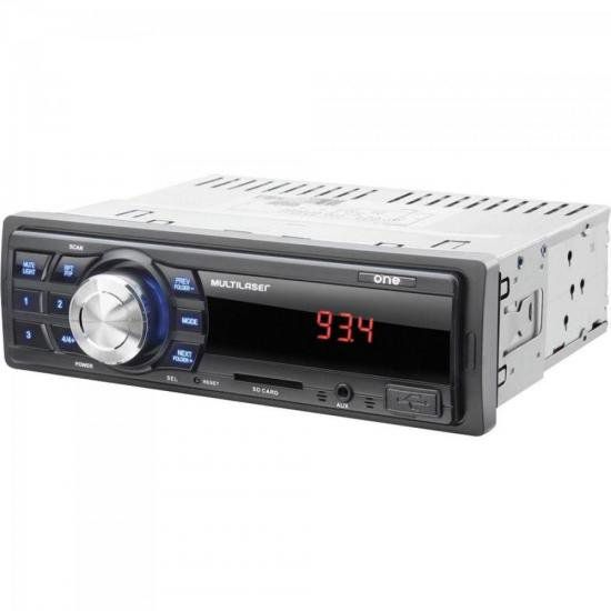 "Kit Som Automotivo Radio MP3 + 2 Alto Falantes 6"" + 2 Alto F"