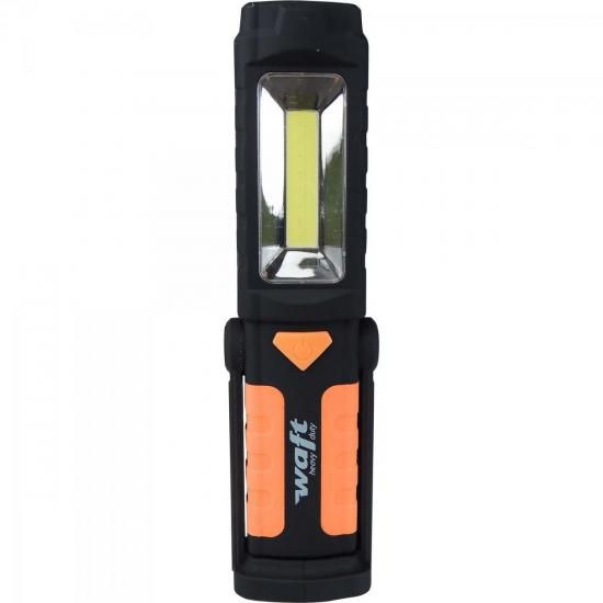 Lanterna Luz de Inspeção MULTI LED Preta/Laranja WAFT