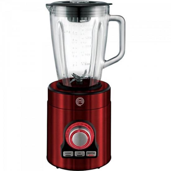 Liquidificador Premium 700W 127V LI3001V Vermelho MASTERCHEF