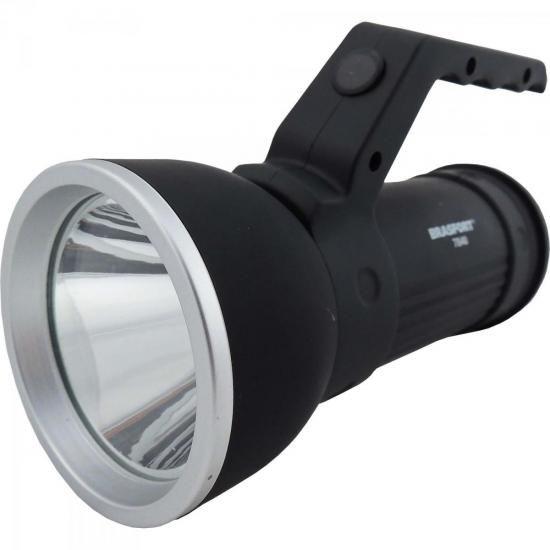 Luminária LED SIRIUS Preta BRASFORT