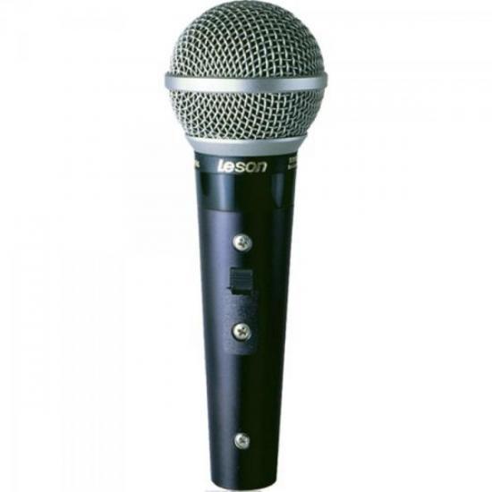 Microfone Profissional Com Fio Supercardióide SM58 PLUS LESO